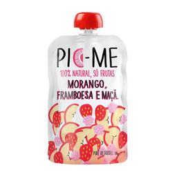 Purê Mix De Frutas Morango, Framboesa E Maçã Pic-Me 100 g