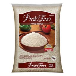 Arroz Branco Longo-Fino Tipo 1 Prato Fino 5 Kg