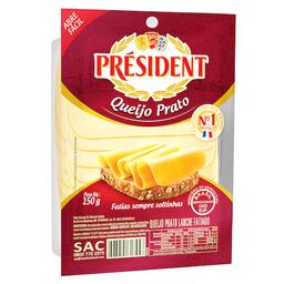 Queijo Prato Fatiado President 150 g