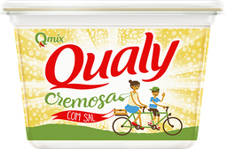 Margarina Cremosa Qualy Com Sal Pote 500g