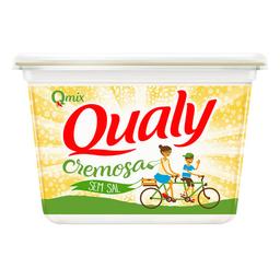 Margarina Cremosa Sem Sal Qualy 500 g
