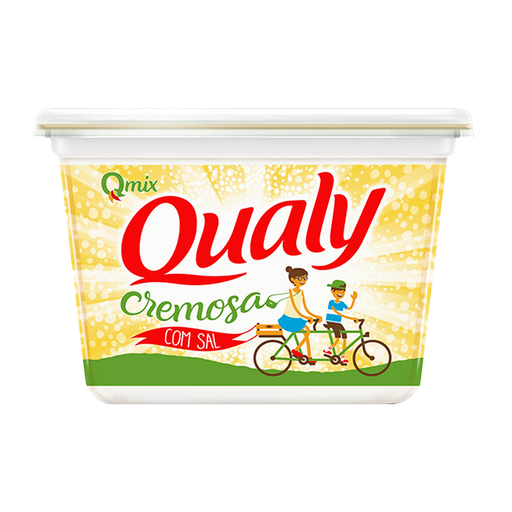 Qualy Margarina Cremosa Com Sal