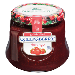 Geleia Diet De Morango Queensberry Diet 280 g