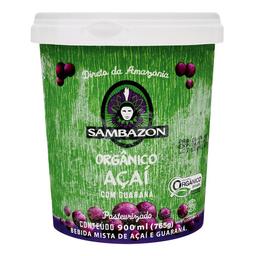 Açaí Com Guaraná Congelado Orgânico Sambazon 765G
