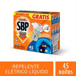 Repelente Elétrico SBP  45 Noites Refil 35ml + Aparelho Grátis