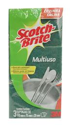 Esponja Multiuso Scotch-Brite 3 Und