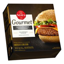 Hambúrguer Seara Gourmet Tradicional 360G