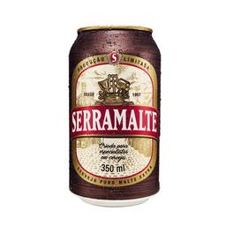 Cerveja Serra Malte Puro Malte Extra Pilsen 350 mL