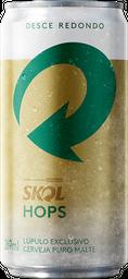 Cerveja Skol Hops Puro Malte Pilsen Lager 269Ml