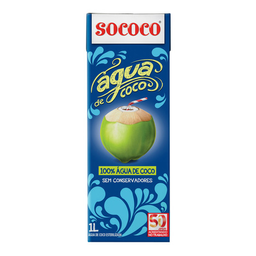 Água De Coco Sococo 1 Litro