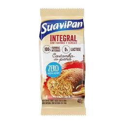Mini Bolo De Castanha Do Pará Zero Açúcar Suavipan Integral 40 g