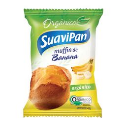 Muffin De Banana Orgânico Suavipan 40 g