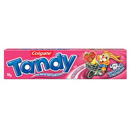 Creme Dental Infantil Tandy Tutti Frutti 50 g