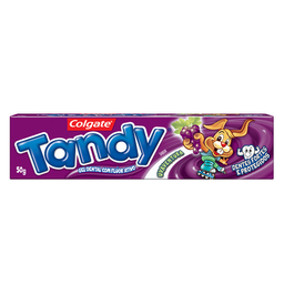 Creme Dental Infantil Tandy Uva 50 g