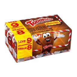 Bebida Láctea Instantânea De Chocolate Toddynho - 9 Unidades