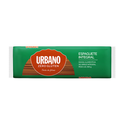 Macarrão Espaguete Arroz Integral Urbano 500 g