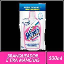 Tira Manchas Vanish White Refil 500ml Alvejante roupas brancas