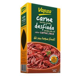 Carne Bovina Desfiada Curada Vapza Dê Seu Toque Final 400 g