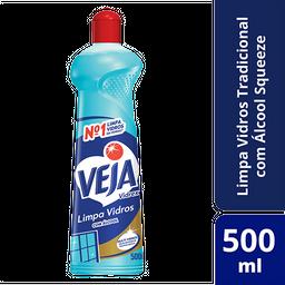 Limpa Vidros Veja Vidrex com álcool 500ml