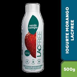 Iogurte Desnatado Sem Lactose Verde Campo Lacfree Morango 500 g