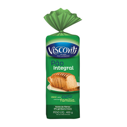Pão De Forma Integral Visconti 400 g