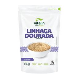 Farinha De Linhaça Dourada Integral Vitalin 150 g