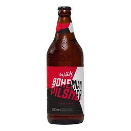 50% de DESCONTO na 2 UND Cerveja Wals Bohemia Pilsen 600 mL