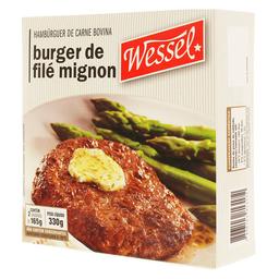 Wessel Hambúrguer de Filé Mignon Congelado