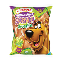 Bisnaguinha Integral Wickbold Scooby Doo 300 g
