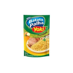 Batata Frita Palha Yoki Sabor Cebola E Salsa Extra Fina 120 g