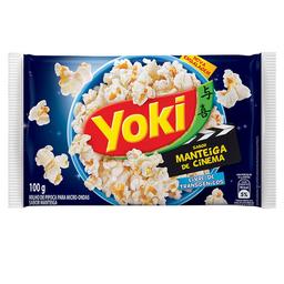 Milho Para Pipoca Manteiga Yoki De Cinema 100 g