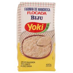 Farinha De Mandioca Biju Flocada Yoki 500 g
