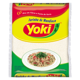 Farinha De Mandioca Fina Crua Yoki 500 g