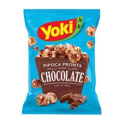 Pipoca Pronta Sabor Chocolate Yoki 50 g