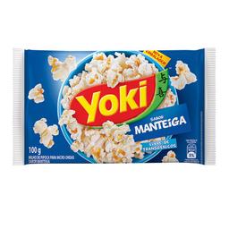 Milho Para Pipoca Manteiga Yoki 100 g