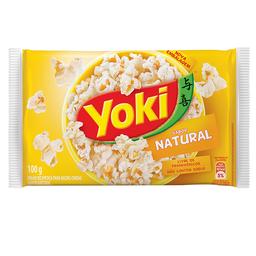 Milho Para Pipoca Natural Yoki 100 g