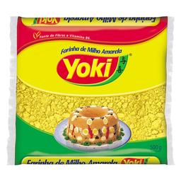 Farinha De Milho Yoki Amarela 500 g