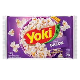 Milho Para Pipoca Bacon Yoki 100 g