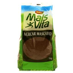 Açúcar Mascavo Yoki Mais Vita 1Kg