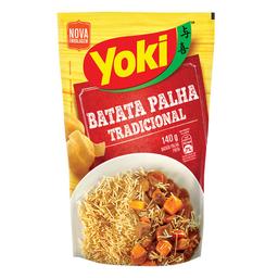 50% na 2 Unid Batata Frita Palha Yoki 140 g