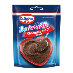 Achocolatado Em Pó Solúvel Dr. Oetker De Coração 100 g