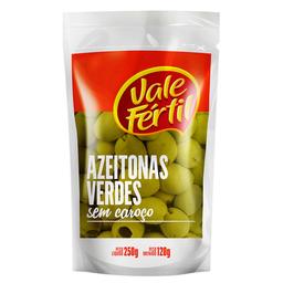 Azeitona Verde Sem Caroço Vale Fértil Sachê 120 g