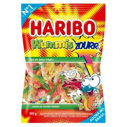 Bala De Gelatina Minhoca Haribo Wummis Zourr100 g