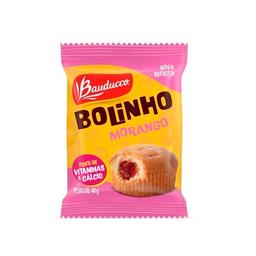 Mini Bolo De Baunilha E Morango Bauducco 40 g