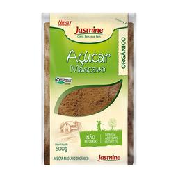 Açúcar Mascavo Orgânico Jasmine 500 g