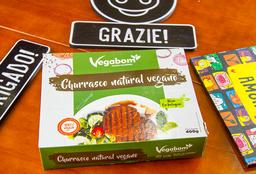 Churrasco Natural Vegano - 400g (congelada)