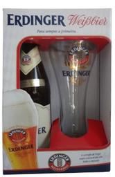 Cerveja Erdinger Weissbier  com 1 Copo (Kits)