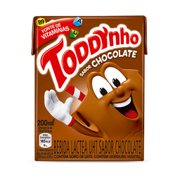 Achocolatado Toddynho - 200 mL- Cód. 10808