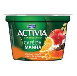 Activia Cafe Da Manhã - Maça, Mamão, Laranja 170 g- Cód. 10811