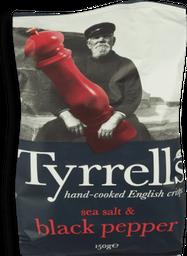 Batata Frita Com Sal Marinho E Pimenta Do Reino Tyrrells - 150g